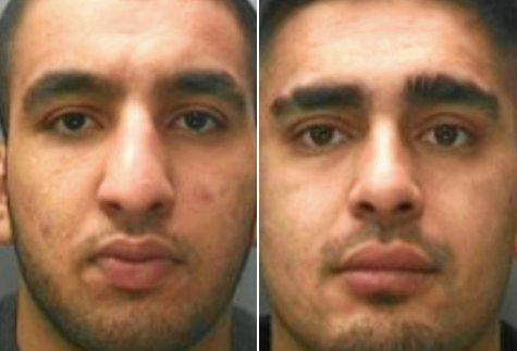 Dos de los violadores.