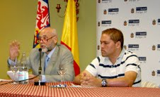 Blas Piñar Gutierrez y Oliver Nistal