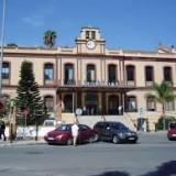 Hospital Civil de Málaga, donde fue ingresado el hombre herido con una catana.