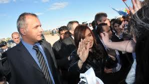 Cristina Kirchner visita el Parque tecnologico para la investigacion de renovables en Argentina.