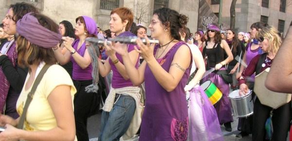 Feministas españolas.