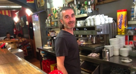 Pep Rafart, del Bar Serrallonga de Salt.