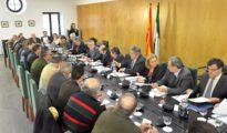 Reunión de alcaldes andaluces.