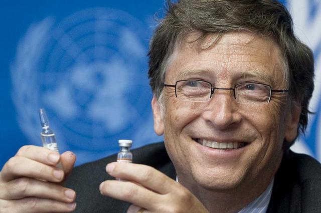Bill Gates, creador de la Fundación Bill & Melinda Gates.