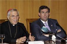 En la imagen, Rouco y Dagnino.