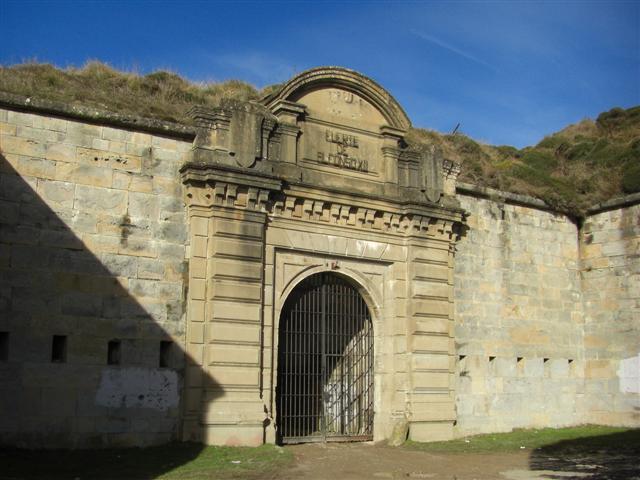 Fuerte de Alfonso XII, en Navarra.