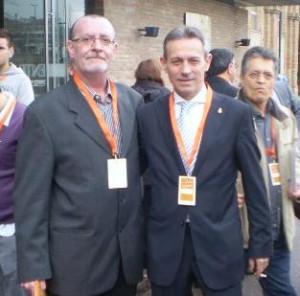 Jordi Casanova (i) y Josep Anglada.