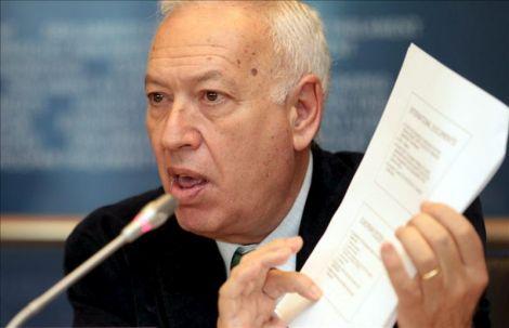 José Manuel García Margallo, ministro de Exteriores.
