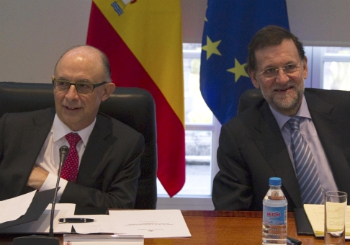 Montoro y Rajoy.