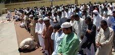 Musulmanes en un instituto de Badalona.