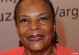 La nueva ministra de Justicia Christiane Taubira.