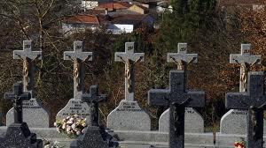 Tumba de Miguel Ángel Blanco en el cementerio de A Merca, en Orense.