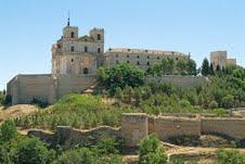 Monasterio de Uclés, casa madre de la orden de Santiago.
