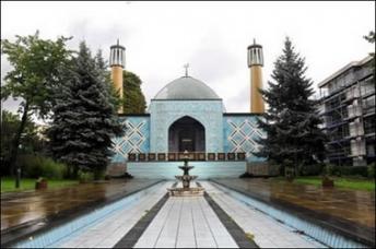 Una de las mezquitas existentes en Hamburgo.