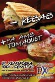 Cartel de la campaña de los identitarios leridanos en favor de la gastronomía autóctona.