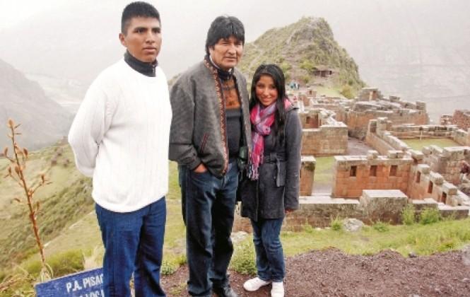 Evo Morales deja embarazada a una menor de edad, hija de una de sus