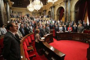 Parlamento de Cataluña.