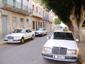 Taxis de Melilla.