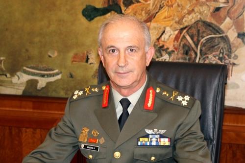El general Constantinos Ziazias.