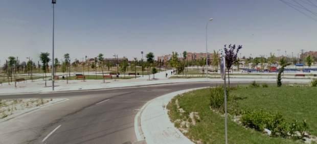 Imagen de la zona de Alcorcón donde se instala el recinto ferial.