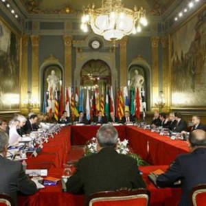 Reunión de presidentes autonómicos.