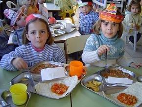 La retirada de becas deja los comedores escolares vac os - Comedores escolares castilla y leon ...