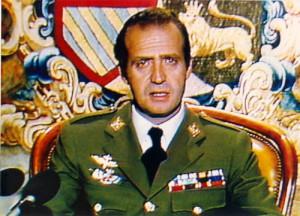 El Rey, en su discurso a la nación la madrugada del 24 de febrero de 1981.