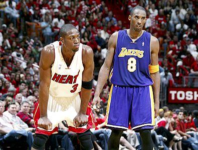 Imagen de un partido de la NBA.