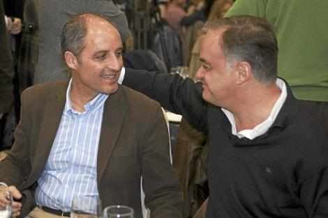 Francisco Camps (i) y González Pons.