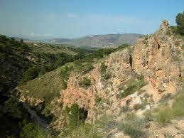 La sierra del Carche, en Murcia.