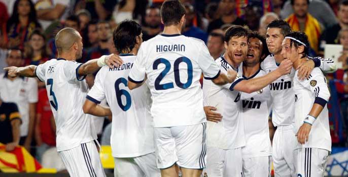 El Real Madrid felicita a Cristiano por el 2-2.