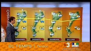 Cataluña cuenta con su propio servicio de meteorología.