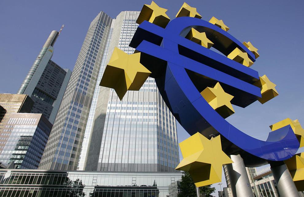 Imagen de la sede actual del Banco Central Europeo, en Fráncfort.