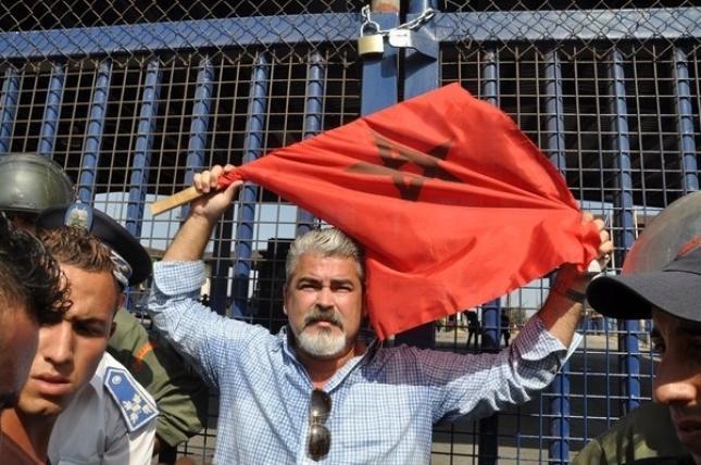 El senador marroquí Yahya Yahya, instigador de los altercados en la frontera de Melilla.