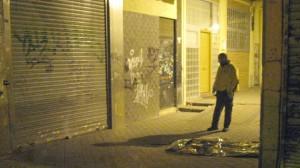 Cadáver del hombre que se ha precipitado al vacío en Madrid