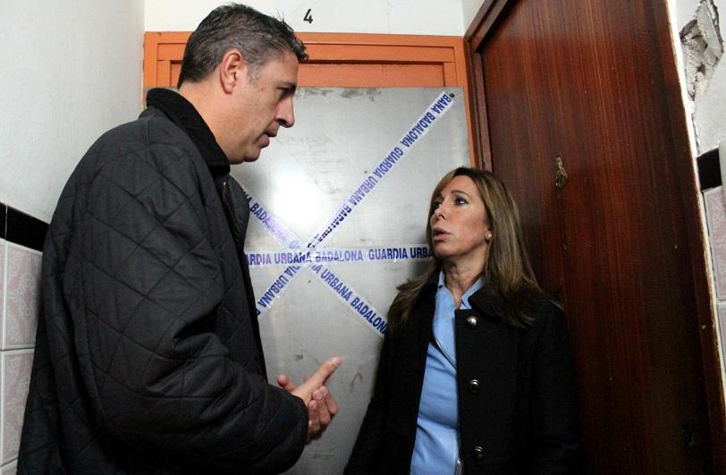 Xavi García Albiol y Alicia Sánchez-Camacho