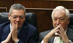 Gallardón y Margallo, titulares de Justicia y Exteriores.