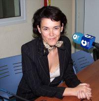 María Antonia Garbín, consejera de Bienestar Social.