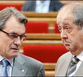 Artur Mas y Felip Puig.