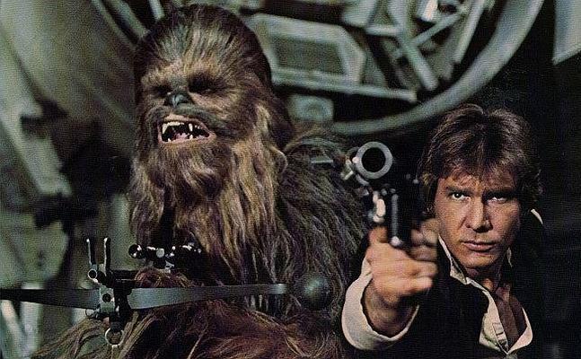 Harrison Ford, en su papel de Han Solo.