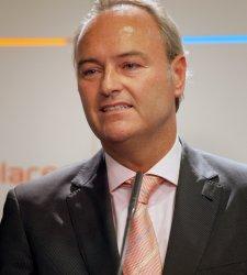 Alberto Fabra, presidente de Valencia.
