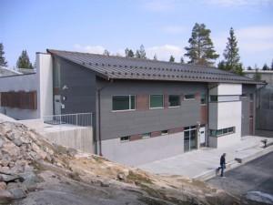 """Imagen de la cárcel de """"Kongsvinger"""", ocupado únicamente por extranjeros."""