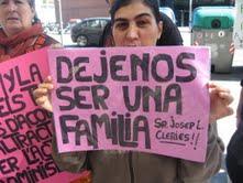 Protesta contra el 'robo' de nilos por parte de la Generalitat.