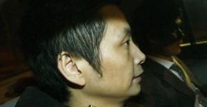 Gao Ping a la salida de prisión.