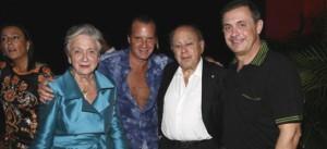En la imagen, Marta Ferrusola, Jordi Pujol y Jordi Pujol júnior en Acapulco.
