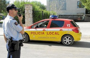 La Policía Local de sa Pobla y la Guardia Civil han reforzado su presencia para evitar incidentes.
