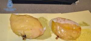 Las prótesis mamarias de cocaína.
