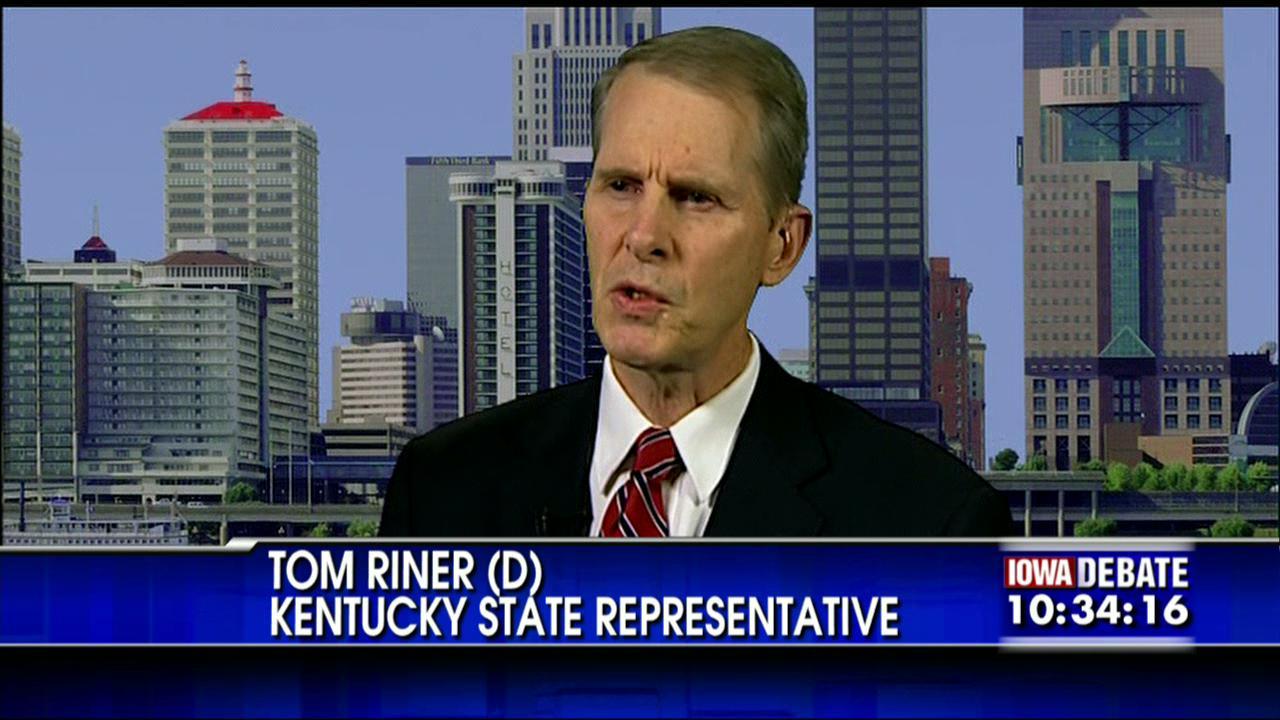 Tom Riner, el impulsor de la polémica ley.