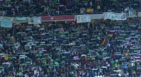 Banderas españolas en el Nuevo Arcángel