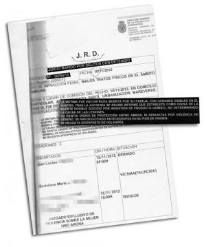 En la documentación se omiten apellidos por deseo expreso de la familia y los datos de los testigos.